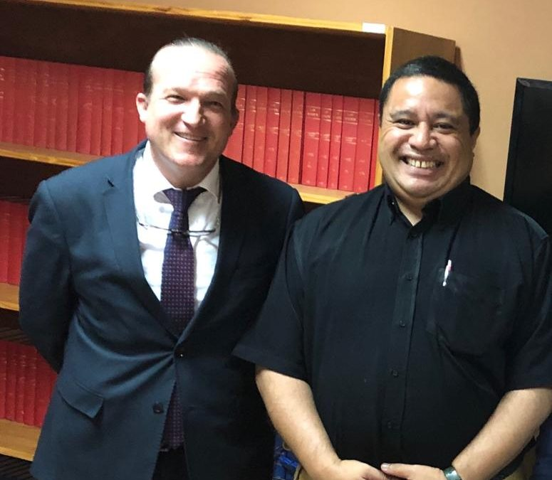 Meeting with the Acting Attorney General of Tonga