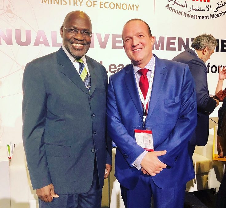 Encounter with Hon. Tjekero Tweya, Minister of Industrialisation Trade & SME Development of Namibia