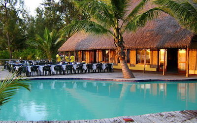 BEACH LODGE WITH RESTAURANT | MOZAMBIQUE